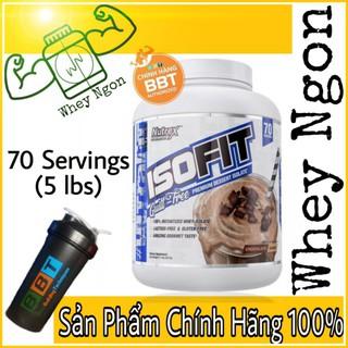 Nutrex Isofit – Whey protein tốt nhất – Hộp 70 lần dùng