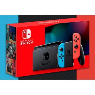 Máy Chơi Game Nintendo Switch 2019 - ( Màu Neon Blue) - Pin Lâu hơn thumbnail