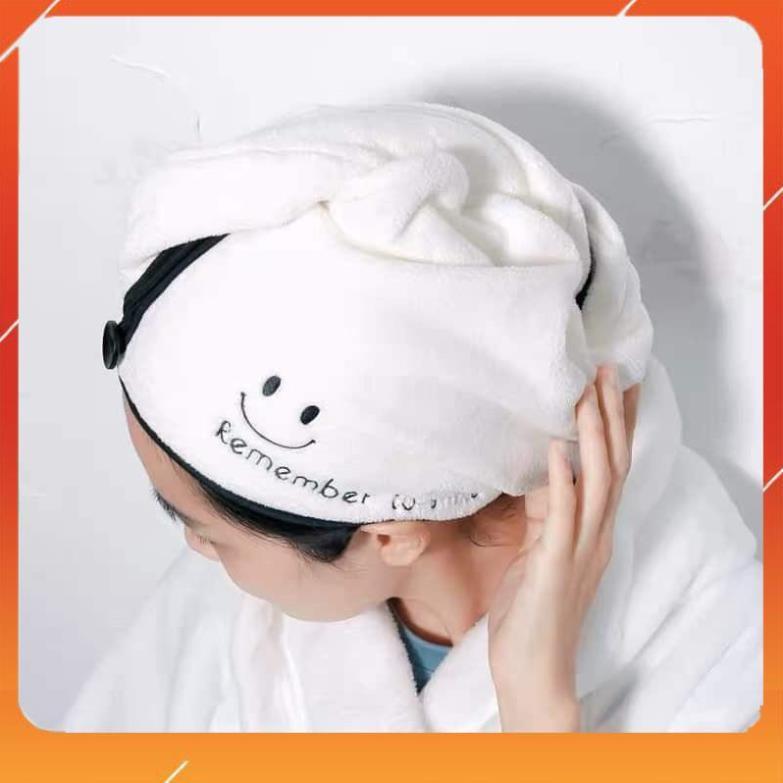 [ KHUYẾN MẠI ] Khăn Quấn Lau Khô Tóc Nhanh My Love