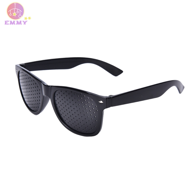 Anti-fatigue Stenopeic Eyeglasses Vision Care Eyesight Improver Pinhole Glasses
