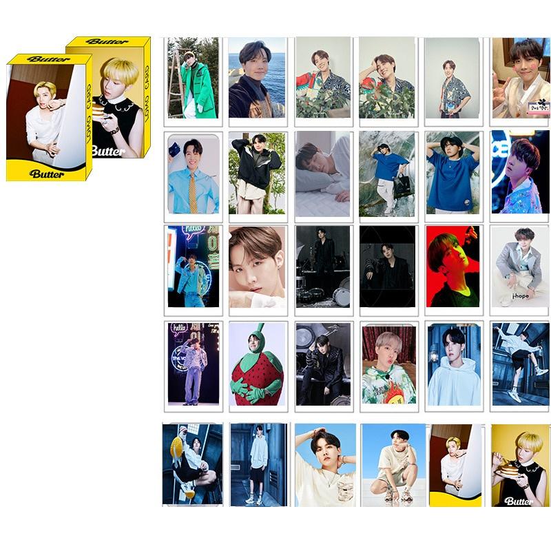 Set 30 Tấm Thẻ In Hình Các Thành Viên Nhóm Bts
