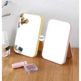 Gương Để Bàn Nhỏ Trang Trí Nhà Cửa Gương Soi Để Bàn Trang Điểm Cao Cấp