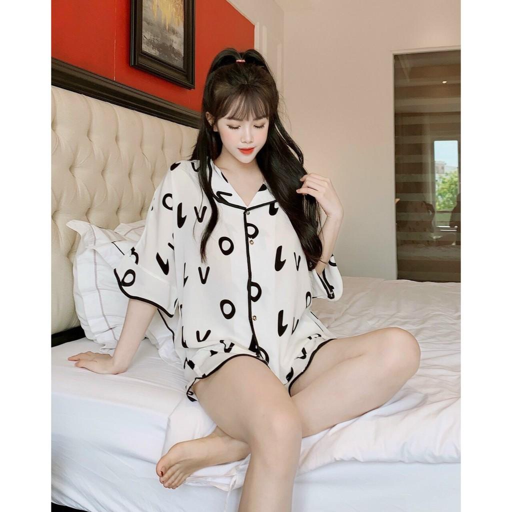 Mặc gì đẹp: Ngủ ngon hơn với đồ ngủ pijama đùi, lụa mango cao cấp, cam kết không nhàu nát, mặc cực mát trong mùa hè
