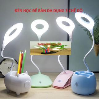 đèn led 3 chế độ 💝 FREESHIP 💝 đèn học để bàn giá rẻ