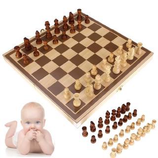 Gấp ván cờ bằng gỗ Set Board Game Bộ sưu tập đồ chơi vui nhộn Board di động Trò chơi du lịch