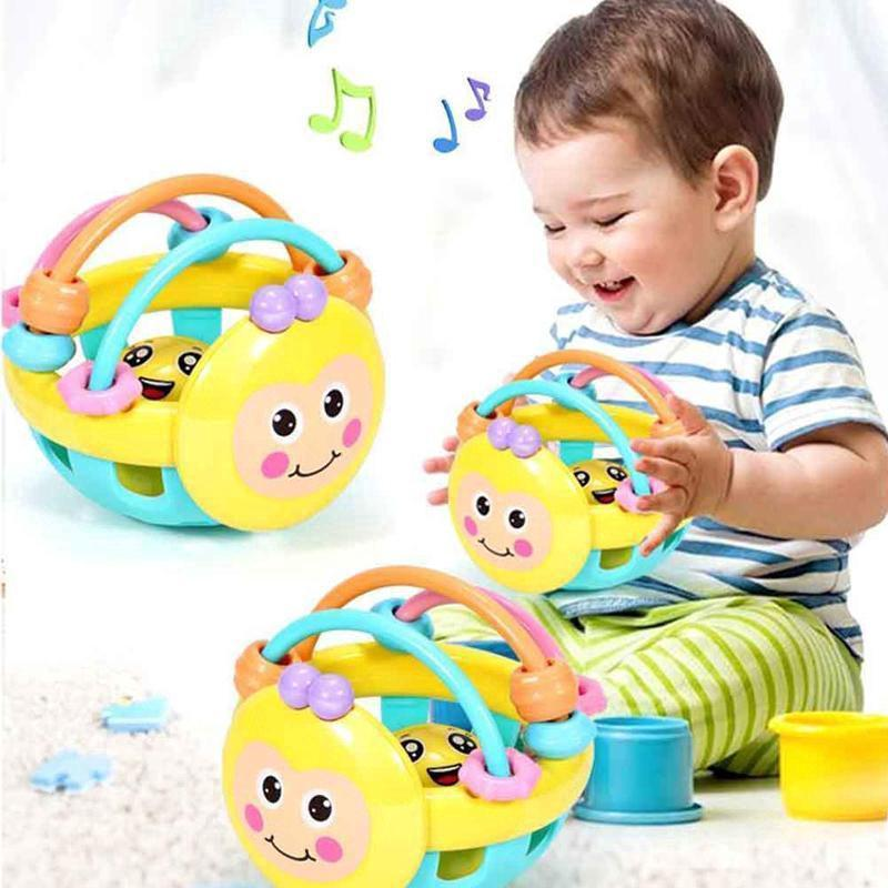 Baby Einstein Flexible Bendy Ball Rattle Toy for Babies Educational Toys