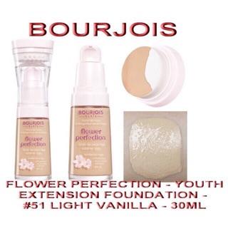 Kem nền Bourjois Flower Perfection Auth Pháp Dung tích 30ml thumbnail
