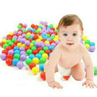 100 quả bóng mềm đồ chơi cho bé ( sỉ )