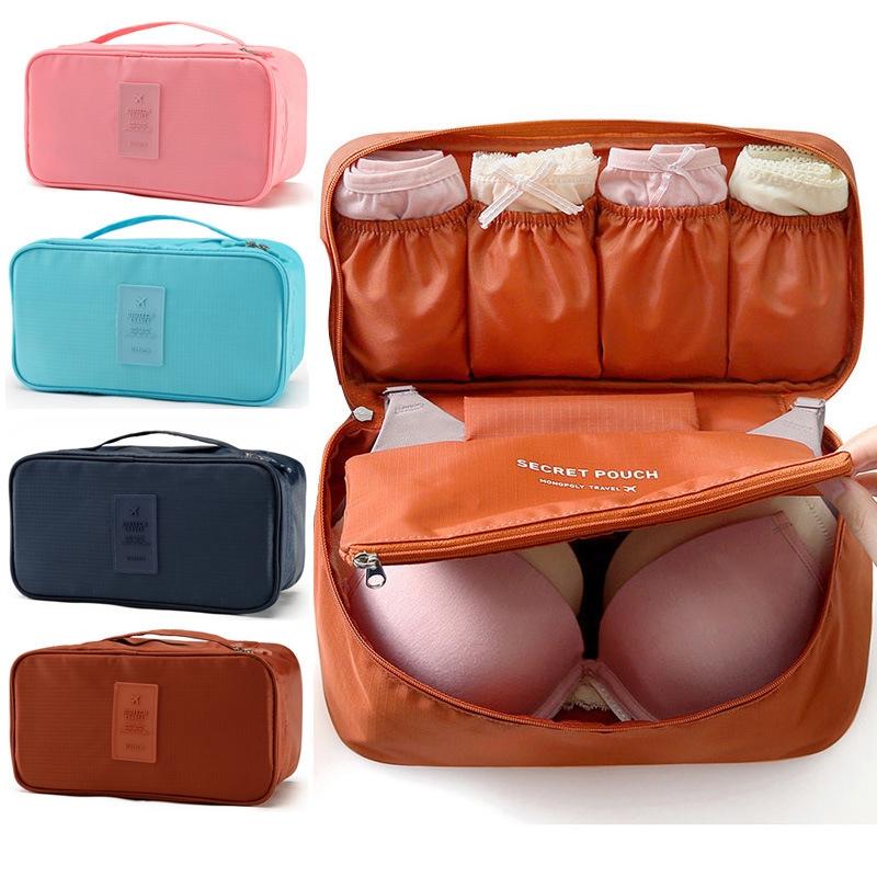 Túi đựng đồ lót du lịch chống thấm- nhiều ngăn chống thấm thiết kế đẹp mắt, họa tiết trẻ trung