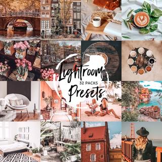32 gói Presets Lightroom cho điện thoại – 238 Presets Lightroom / Mobile Lightroom Presets – LR3