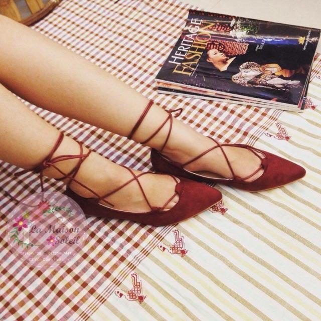 Sandal cột dây
