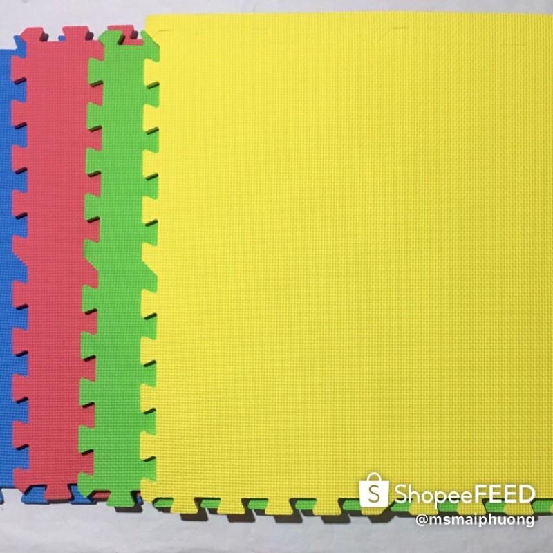 Set 20 Thảm Xốp Trải Sàn Kích Thước 60x60 4 màu