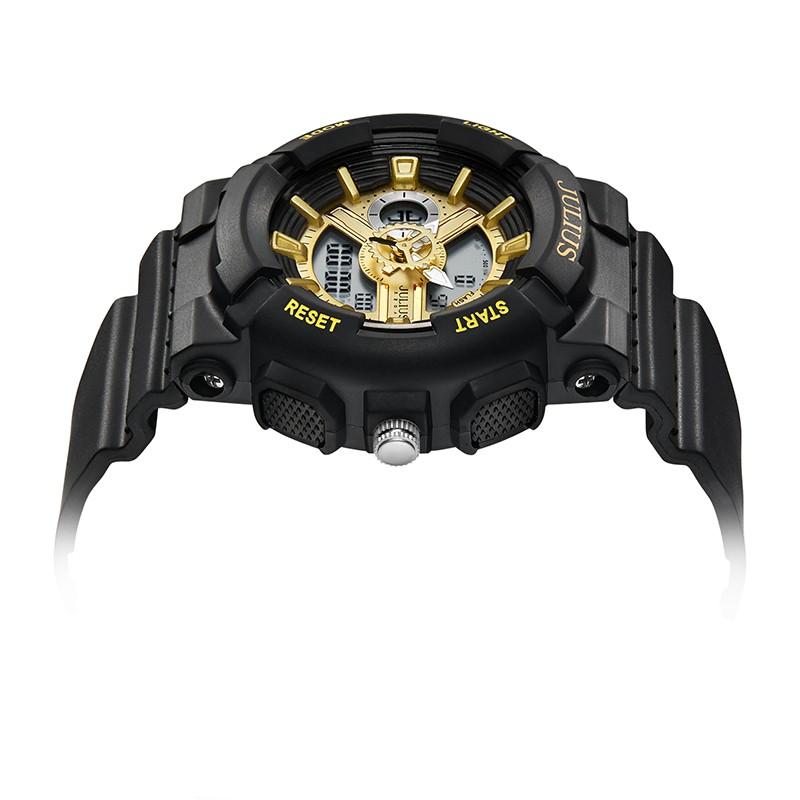 Đồng hồ unisex JULIUS JA-1276E dây nhựa dáng thể thao