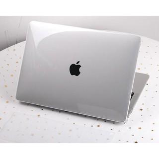 Ốp Macbook ,Case Macbook Air 13″ ( 2018 – 2020) trong suốt (Tặng kèm Nút chống bụi + bộ chống gãy dây sạc )