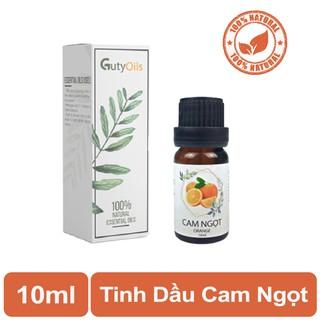 Tinh dầu cam ngọt nguyên chất Guty Oils giúp tăng cường hệ miễn dịch, ngủ ngon, giảm stress dùng trong massage – Lọ 10ml