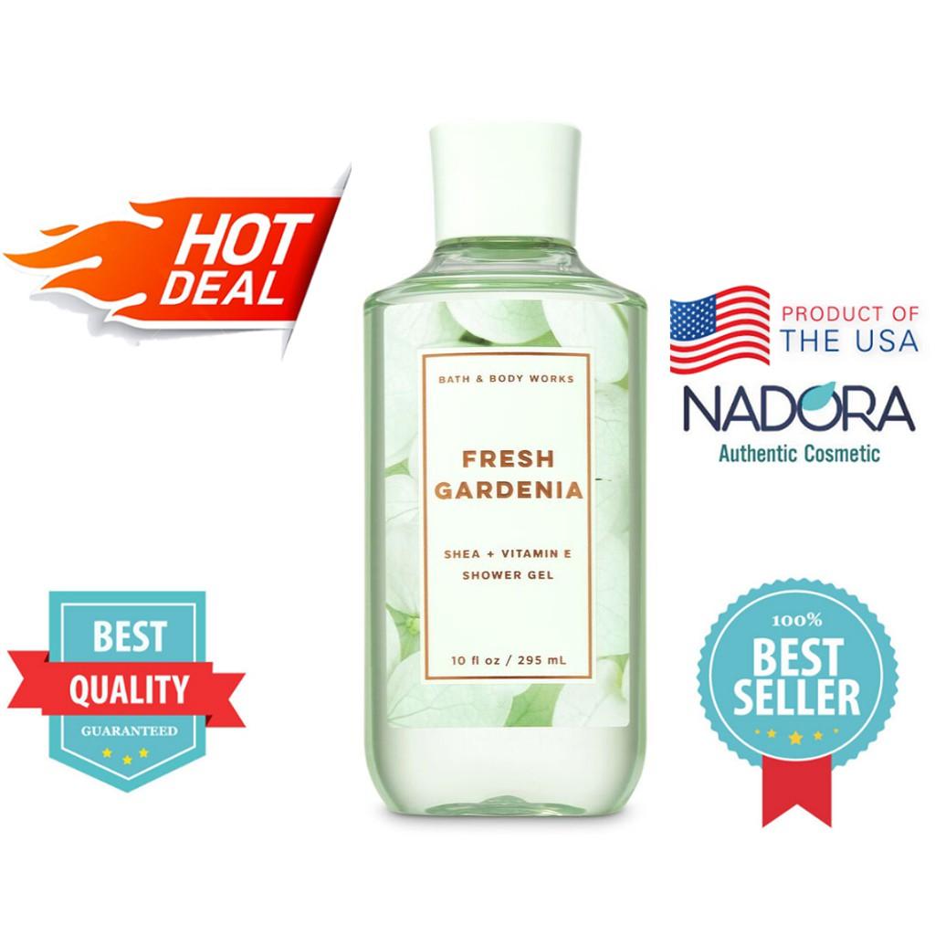 Sữa Tắm Bath And Body Works - Fresh Gardenia Shower Gel (295ml)