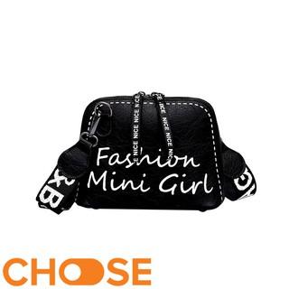 Túi Đeo Chéo Nữ Choose Túi Hình Hộp Dây Viền Chữ FASHION GIRL BBK3K2 thumbnail