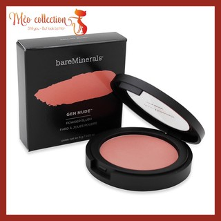 Má hồng BareMinerals - Gen Nude Powder Blush màu Call My Blush mini thumbnail