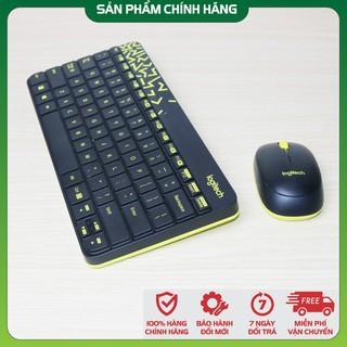 [Chính hãng 🔥 Tặng kèm Pin] Bộ chuột và bàn phím không dây Logitech MK240