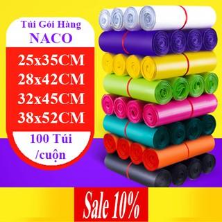 Túi Gói Hàng Niêm Phong Chuyển Phát Nhanh COD – NACO – Size Nhiều Màu – C27