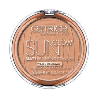 Phấn tạo khối chống nước Catrice Sun Glow Matt Bronzing Powder