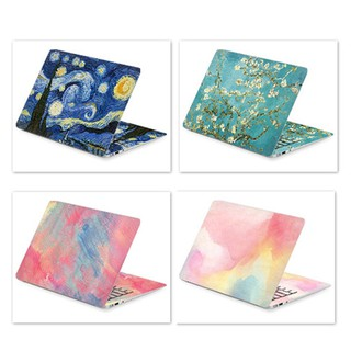 Nhãn dán trang trí bảo vệ bề mặt laptop cho HP Acer Dell Macbook Air 14 15 17 inch thumbnail