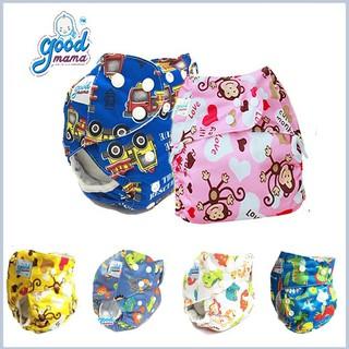 Combo 2 Bộ bỉm vải Goodmama cho bé (3-20kg) siêu thấm hút