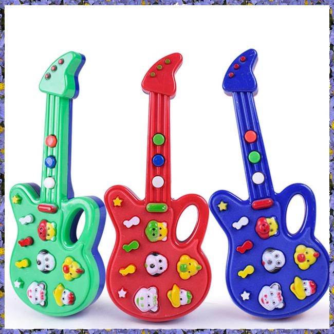 Baby Kids Cute Electronic Guitar Rhyme Developmental Music Sound Child Toy