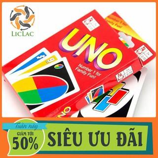 HCM- Bài UNO cơ bản loại TỐT giấy cứng ( 108 lá ) – LICLAC