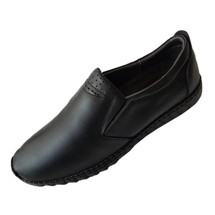 Giày Mọi Nam BIGBEN Da Bò Thật Cao Cấp GM156
