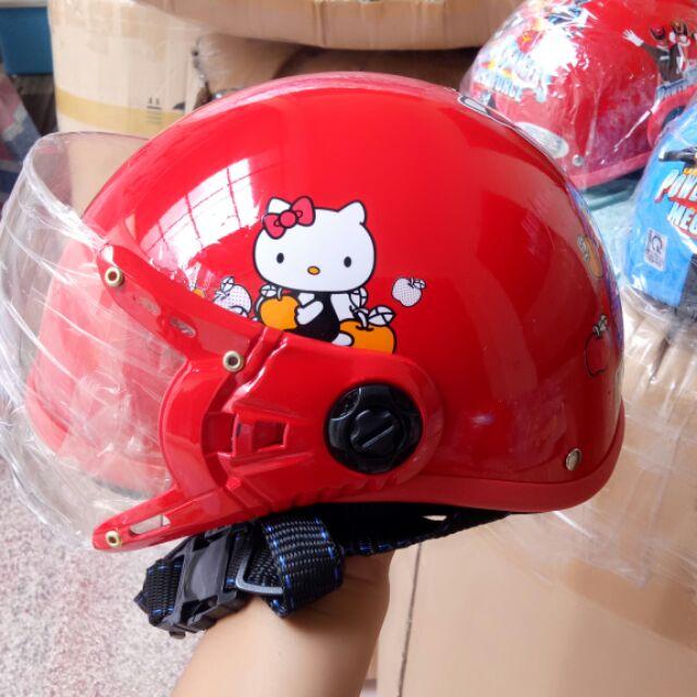Combo 5 mũ bảo hiểm kính người lớn và 1 mũ bảo hiểm kính trẻ em đẹp