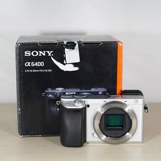 Máy Ảnh Sony A6400 (ILCE-6400) Body Bạc Cũ 99% 90 Shot BH 10/2022