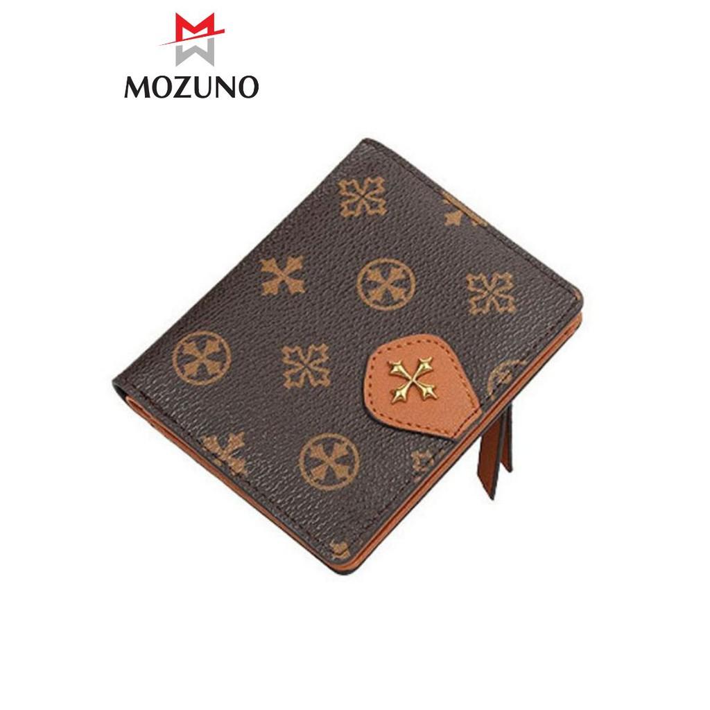 Ví Nữ Ngắn Đẹp Cầm Tay chính Hãng BAELLERRY Thời Trang Cao Cấp Nhiều Ngăn Đựng Tiền Đựng Thẻ BR22 - Mozuno