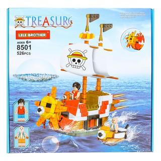 Đồ chơi lắp ráp THOUSAND SUNNY ONE PIECE PIRATE SHIP Lele Brother 8501