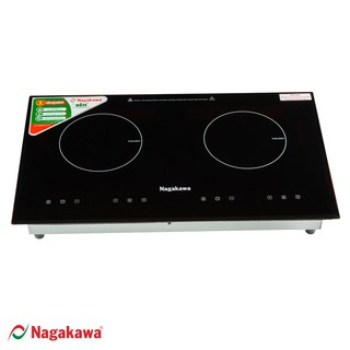 Bếp điện từ đôi âm Nagakawa NAG1201 mặt kính cường lực