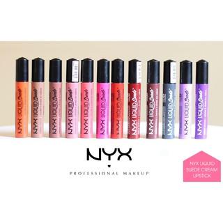 Son kem NYX Liquid Suede Cream Lipstick mềm mại và sánh mịn (15 màu) thumbnail