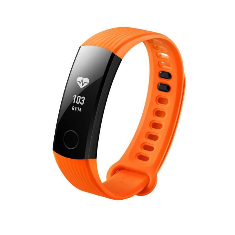 Dây đồng hồ đeo tay silicon điều chỉnh được thay thế cho Huawei Honor 3