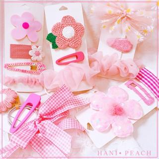 Set 3 kẹp tóc hoa dễ thương cho bé hàng cao cấp MiMi Shop