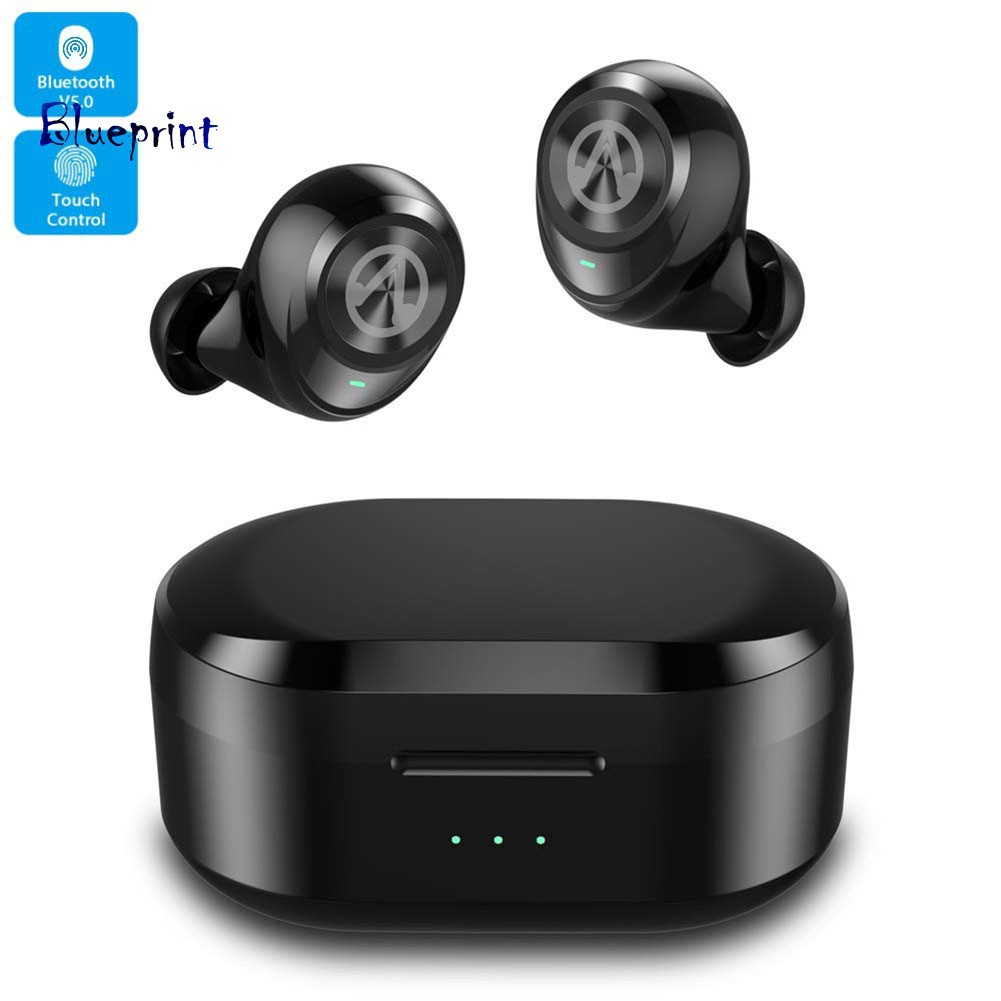 ☞BPX20 Noise Reduction Portable Stereo Ear Buds Wireless Bluetooth V5.0 Earphones