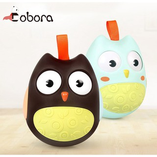 BOBORA Cute Baby bedside toys owl tumbler childrens tumbler toys