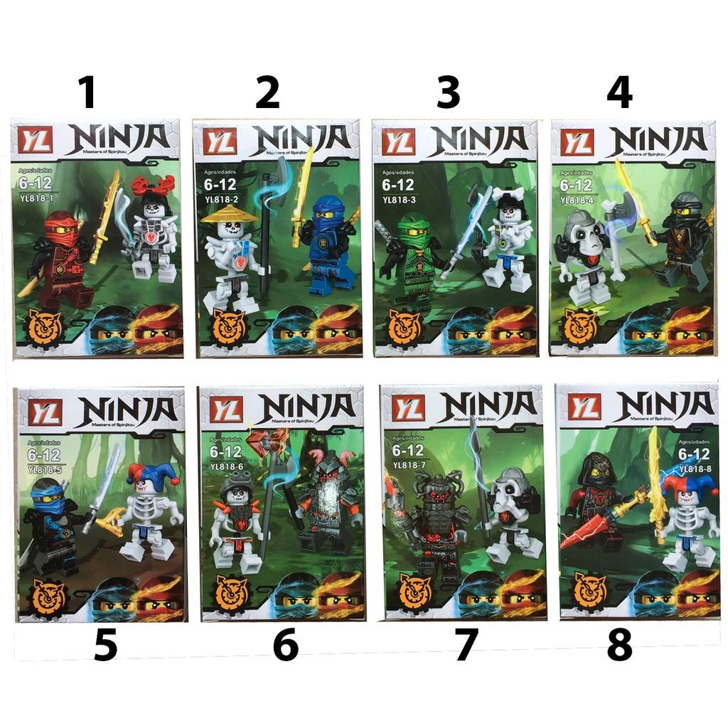 Lego xếp hình Ninja (có 8 mẫu )