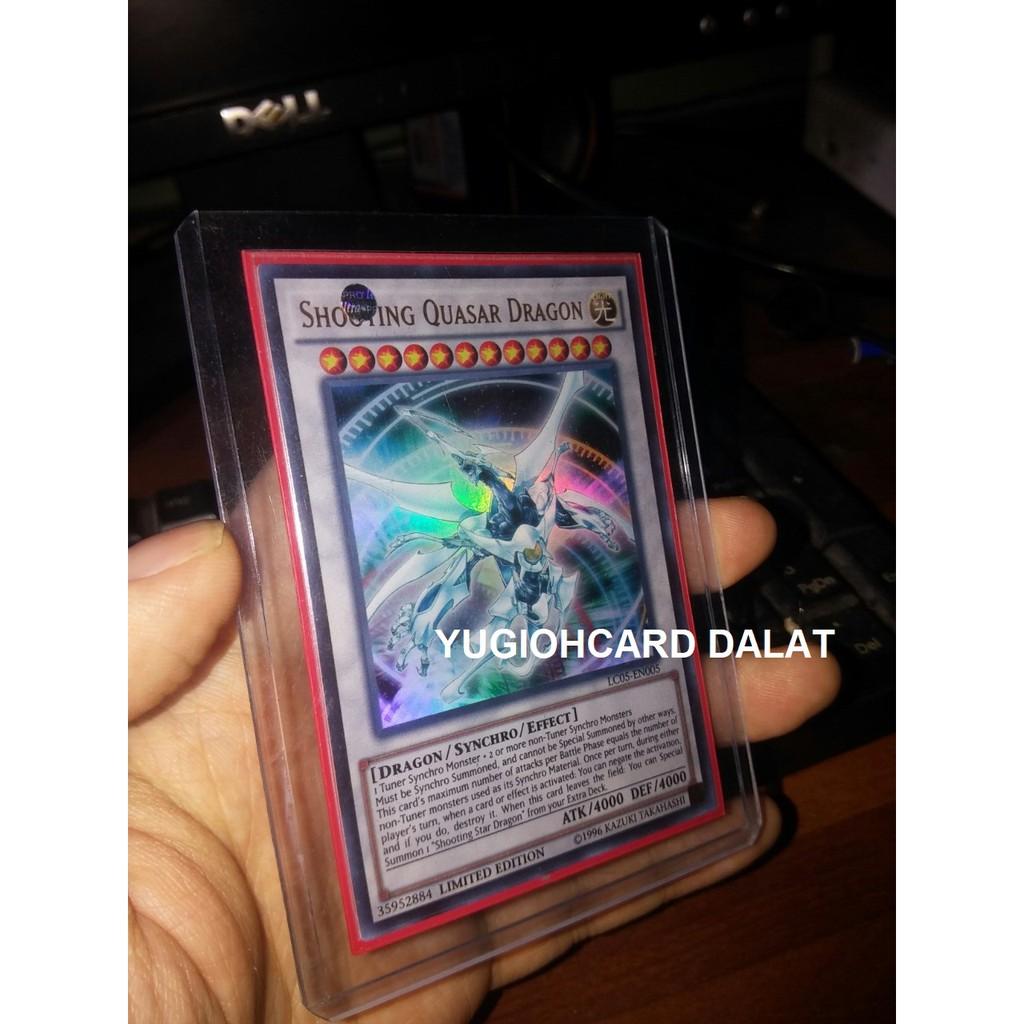 Thẻ bài yugioh  chính hãng Shooting Quasar Dragon – Ultra Rare