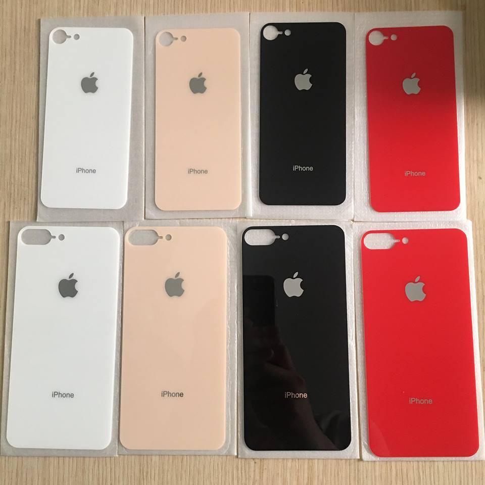 [Rẻ Vô Địch] Cường Lực mặt lưng giả iphone 8 + ốp silicon trong cao cấp ( giống 99%) cho iPhone 6/6plus/7/7plus/8/