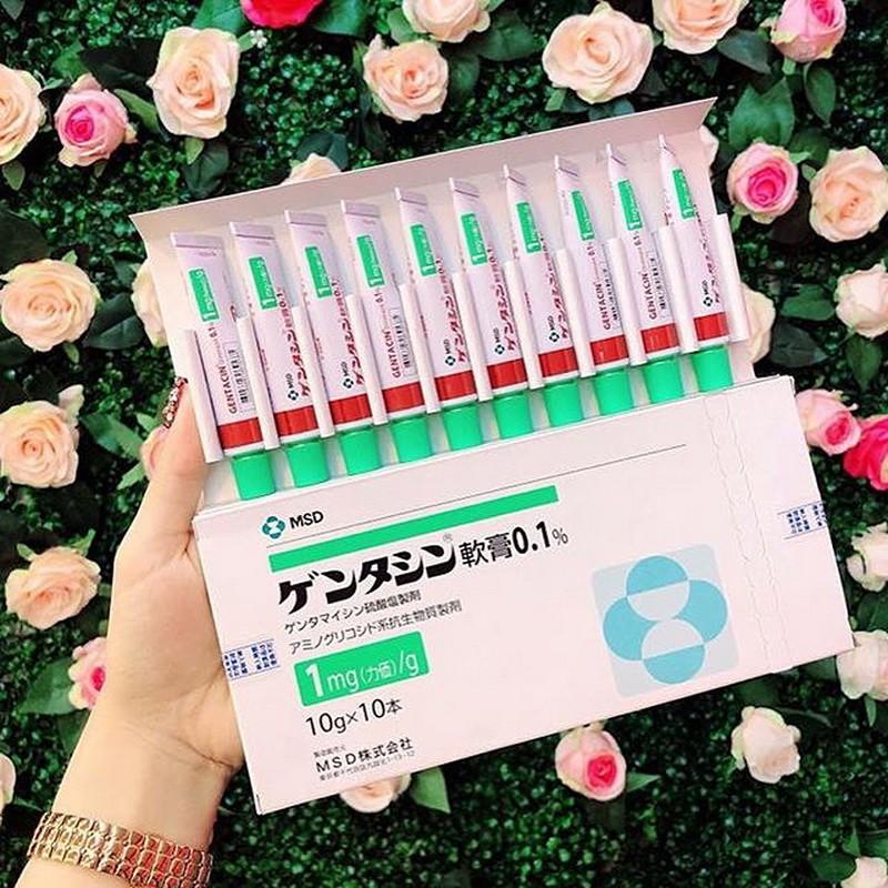 Kem Trị Sẹo Gentacin 10G Nhật