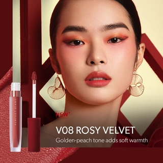 Hình ảnh Son Kem Lì Perfect Diary Glamour Select Velvet Liquid Lipstick( Red Velvet Edition) 3g-4