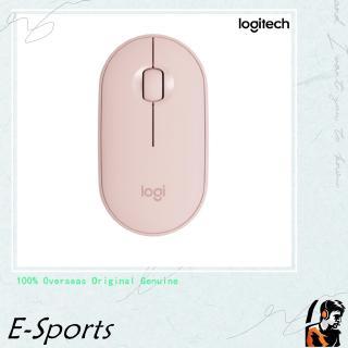 Chuột máy tính Logitech PEBBLE mỏng nhẹ không dây Bluetooth 1000DPI