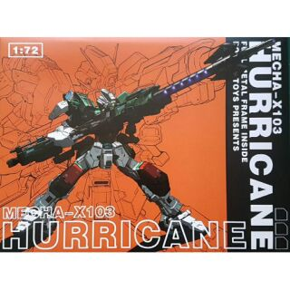 Mô hình Gundam Metal Build Hurricane 1/72 (Poison Toys)