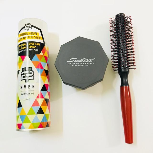 Combo sáp vuốt tóc Subtil Clay Wax + gôm 2Vee hàn quốc + lược tròn - 3037998 , 1148359533 , 322_1148359533 , 540000 , Combo-sap-vuot-toc-Subtil-Clay-Wax-gom-2Vee-han-quoc-luoc-tron-322_1148359533 , shopee.vn , Combo sáp vuốt tóc Subtil Clay Wax + gôm 2Vee hàn quốc + lược tròn