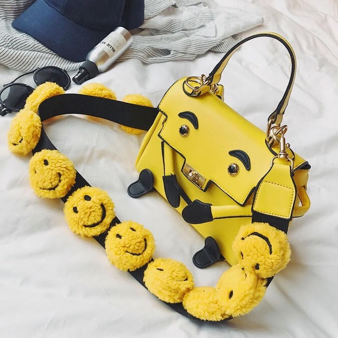 Túi xách mặt cười - Tặng kèm dây phụ kiện mặt cười - 2975422 , 1267492436 , 322_1267492436 , 500000 , Tui-xach-mat-cuoi-Tang-kem-day-phu-kien-mat-cuoi-322_1267492436 , shopee.vn , Túi xách mặt cười - Tặng kèm dây phụ kiện mặt cười