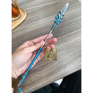 Mô hình Đấu la đại lục Lam ngân bá vương thương 24cm (kéo dài 30cm) cực đẹp